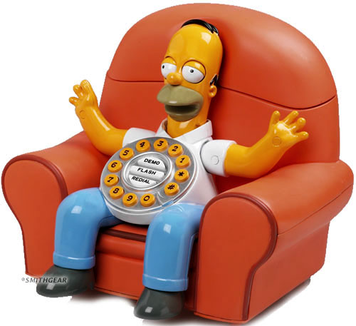 Homer Simpson Phone