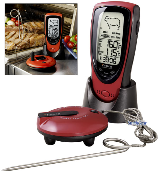 Oregon Scientific AW131 Grill Right Talking Wireless BBQ Thermometer