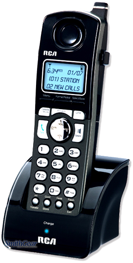 RCA H5401RE1 4-Line DECT 6.0 Accessory Handset for 25423, 25424, 25425