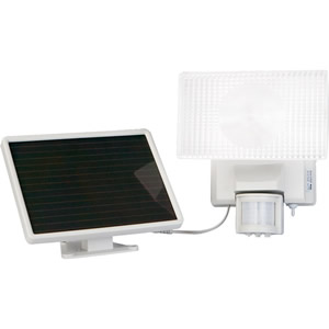 Maxsa 40110 Solar-Powered 30Watt Security Floodlight