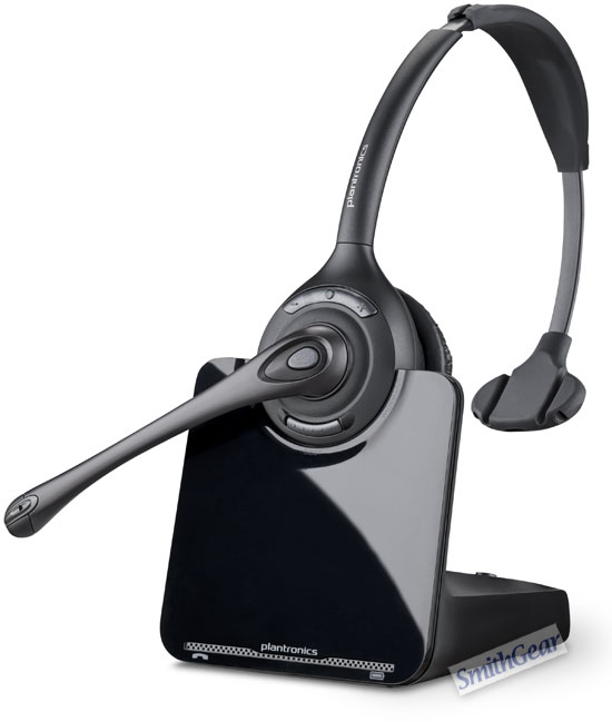 Plantronics CS510 DECT 6.0  Wireless Headset Over the Head SINGLE EAR
