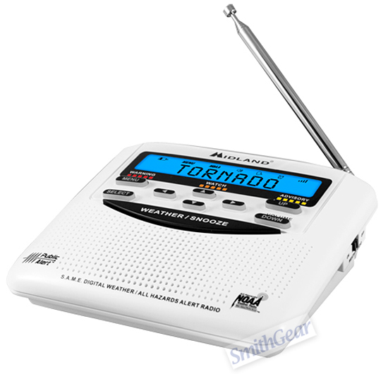 Midland WR-120B Weather Alert Radio with  S.A.M.E. Technology