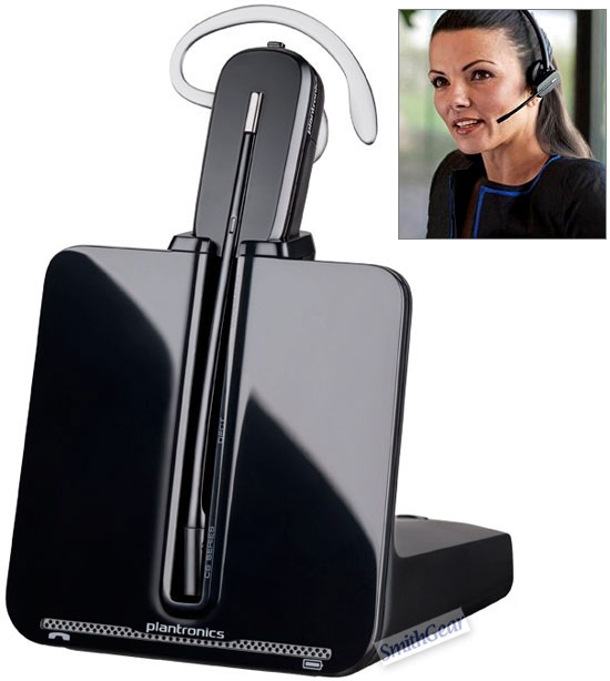 Plantronics CS540 DECT 6.0 Wireless Headset CONVERTIBLE - Click to enlarge