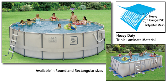 18 Round 52 Wall Height Cheap Aboveground Frame Swimming Pool