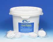 "10 Pounds - 3"" Chlorine Tablets"