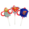 Superman Pop Toppers Clip On Candy Holders