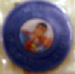 Superman: Premium Flicker Coin Blue