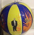 SUPERMAN INFLATABLE BEACH BALL 1997 #2