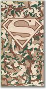 Superman: Camo Beach Towel