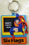 Superman Photo Frame Keychain 1997