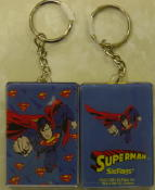 Superman Address Book Keychain
