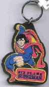 Superman 3D Laser Cut Keychain