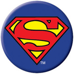DC Comics Superman Logo Button
