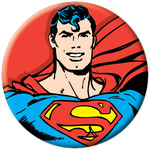 DC Comics Superman Smiling Button