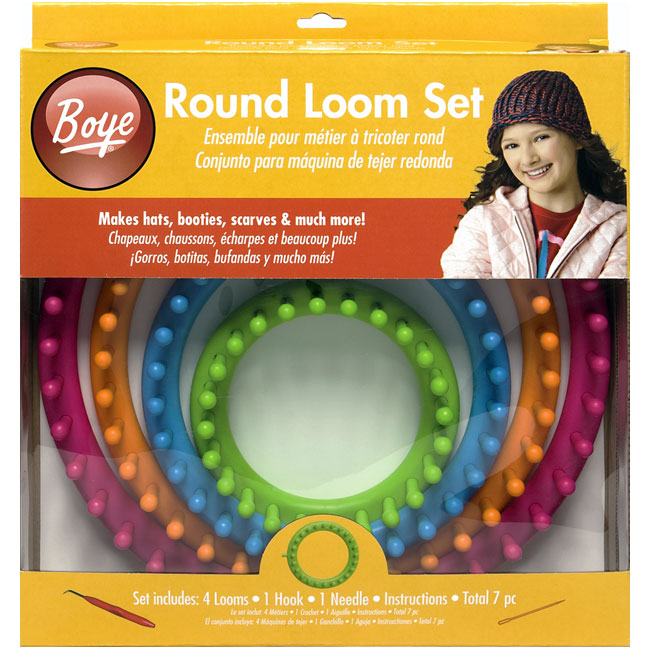 Round Loom Knitting Kit From Boye At Weekend Kits