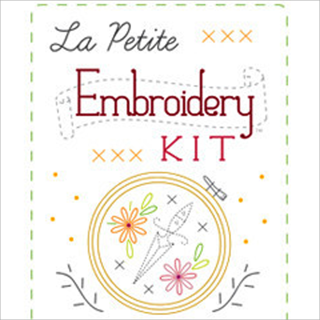 La petite embroidery kit sublime stitching beginner