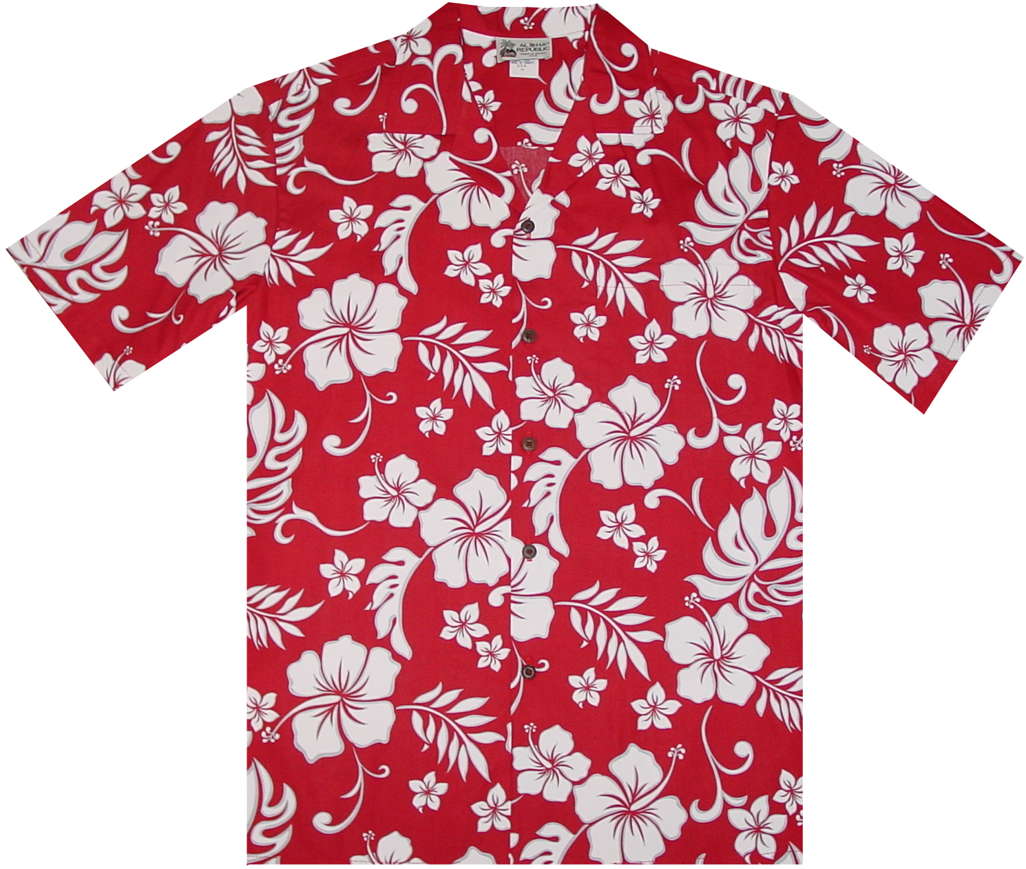 Hanalei Hibiscus Men Hawaiian Shirt