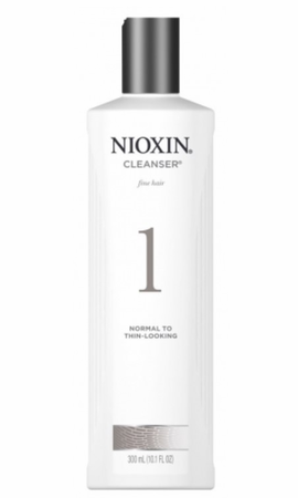 Nioxin 1 Cleanser for Fine Natural Normal to Thin Looking 10.1 oz