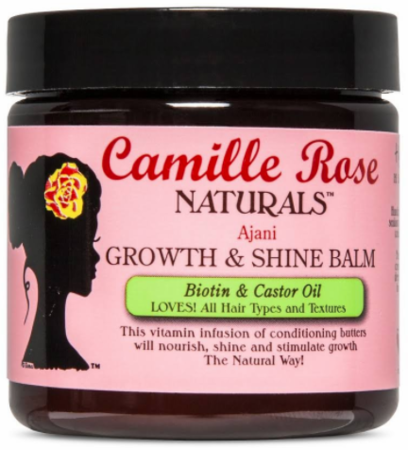 Camille Rose Naturals Growth & Shine Balm Ajani 4oz