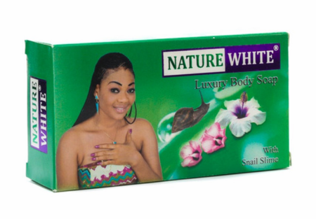 Nature White Luxury Body Soap with Snail Slime 4.8 oz