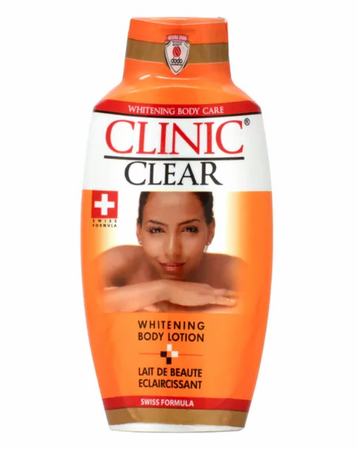 Clinic Clear Whitening Body Lotion 16 oz