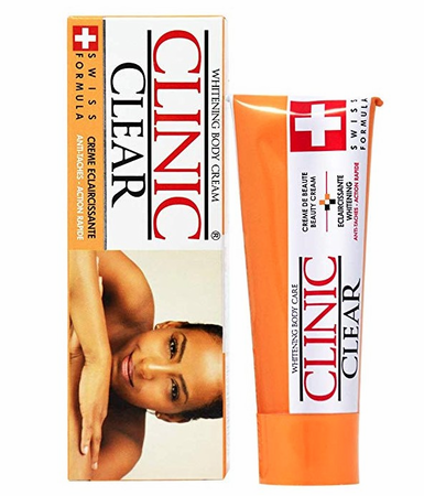 Clinic Clear Whitening Body Cream 1.7 oz
