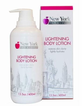 New York Fair & Lovely Lightening Body Lotion 13.5 oz