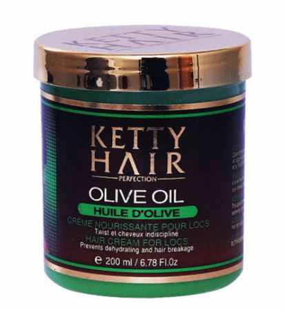 Ketty Hair Olive Oil Cream For Locs 6.78 oz