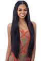 Model Model Oval Part Long Layered Yaky Wig Synthetic