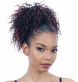 Model Model Pom Pom Bubble Pom Drawstring Ponytail Synthetic