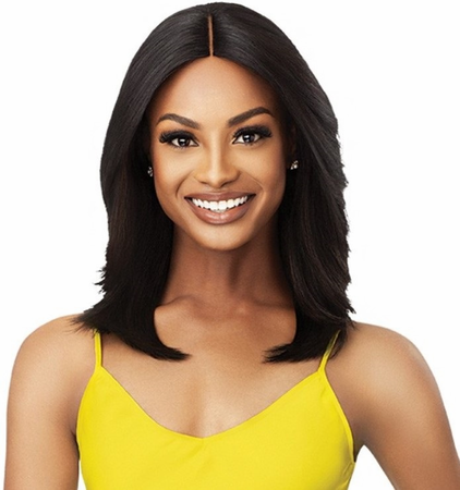 Outre The Daily Wig Salon Blowout Ophelia Lace Part Wig Synthetic