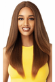 Outre The Daily Wig Salon Blowout Lenore Lace Part Wig Synthetic