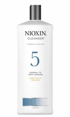 Nioxin 5 Scalp Therapy Conditioner Chemically Treated/Bleached Hair/Normal to Light Thinning 33.8 oz