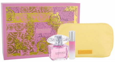 Bright Crystal by Versace For Women 3 Piece Fragrance Gift Set 2018
