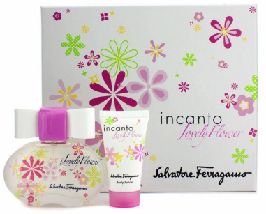 Incanto Lovely Flower By Salvatore Ferragamo For Women 2 Piece Fragrance Gift Set 2018