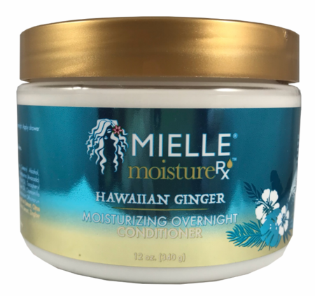 Mielle Moisture RX Hawaiian Ginger Moisturizing Overnight Conditioner 12 oz DISC