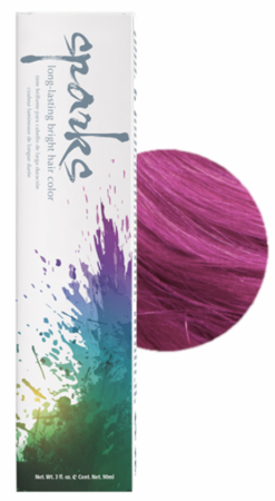Sparks Long-Lasting Bright Hair Color LaLa Lavender 3 oz
