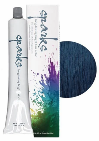 Sparks Long-Lasting Bright Hair Color Nautical Navy 3 oz