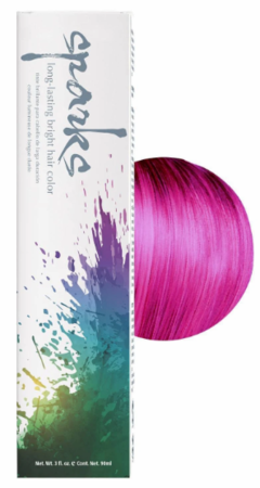 Sparks Long-Lasting Bright Hair Color Red Raspberry 3 oz