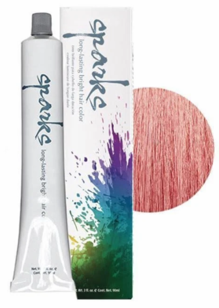 Sparks Long-Lasting Bright Hair Color Rose Gold 3 oz