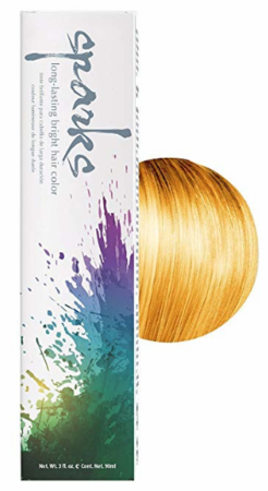 Sparks Long-Lasting Bright Hair Color Sunburst Yellow 3 oz