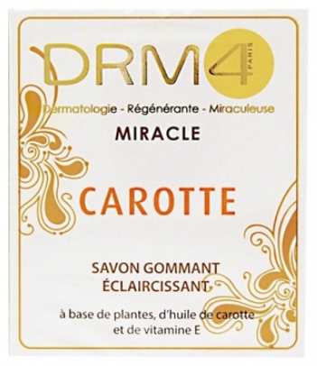 DRM4 Miracle Carrot Lightening Scrubbing Soap 7 oz