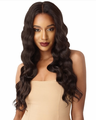 Outre & Play Natural Deep Wave 360 Lace Wig Human Hair Blend New 2019