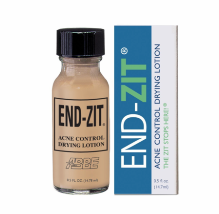 End Zit Acne Control Drying Lotion Medium Dark 0.62 fl oz