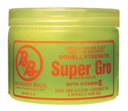 Bronner Brothers Double Strength Super Gro with Vitamin E 6 oz