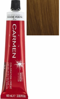 Eugene Perma Carmen Oxidative Cream Hair Color 7*43 Copper Golden Blonde 2.03 oz 2019