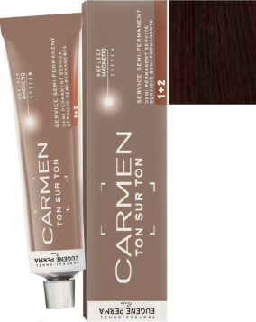 Eugene Perma Professional Carmen Ton on Ton Demi Permanent Hair Color 5*66 Cherry 2.03 oz 2019