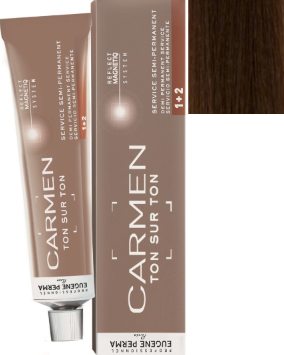 Eugene Perma Professional Carmen Ton on Ton Demi Permanent Hair Color 6*24 Cookie 2.03 oz