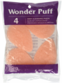 Wonder Puff 4 count Deep Cleansing Puffs 01005