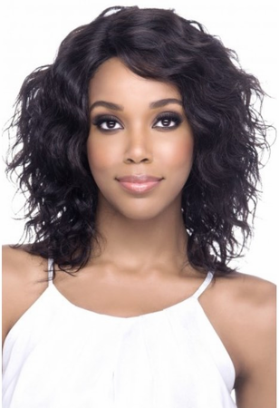Vivica A Fox Faydra Swiss Lace Front Wig Human Hair